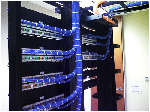 structured cabling, data network wiring - zebra security, Wiring diagram